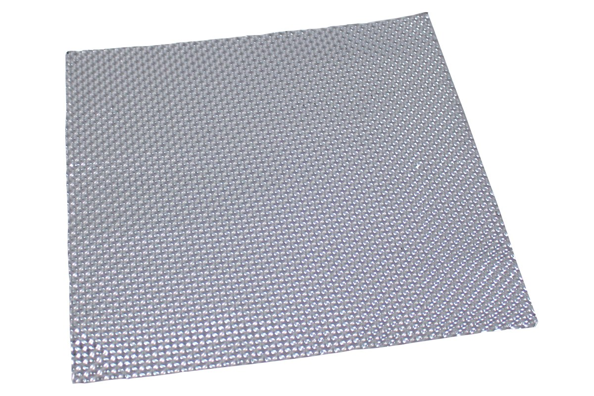 Osłona termiczna wytłaczana z aluminium Turboworks 0.2mm x 30 cm x 30 cm - GRUBYGARAGE - Sklep Tuningowy